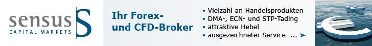 Sensus Capital Markets ltd Forex und CFD Broker