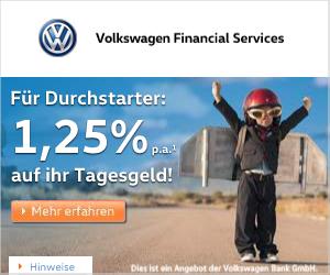 Volkswagen Bank Tagesgeldkonto